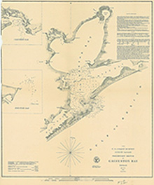 Galveston Bay 1852