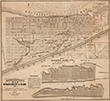 Galveston City and Island 1867