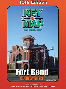 Fort Bend County Key Map