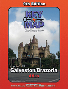 Galveston/Brazoria Key Map