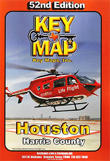 Houston Harris County Key Map