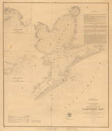 Galveston Bay 1879