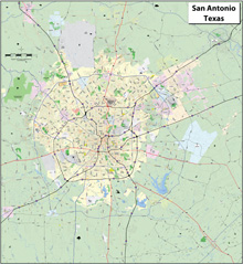San Antonio Major Arterial