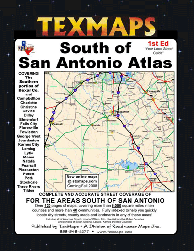 South of San Antonio Atlas